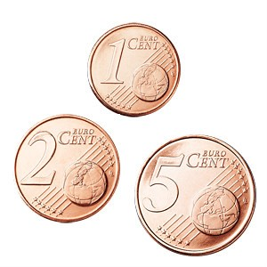 1, 2, 5 centi