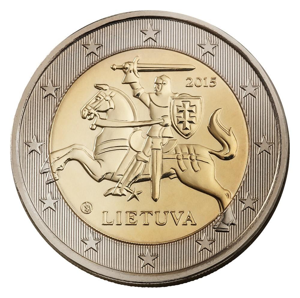 Литва 4 монеты 2013г unc - достопримечательности