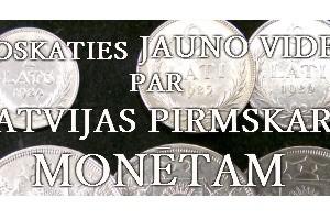 Numismātikas video 002: Latvijas monētas 1922 - 1940