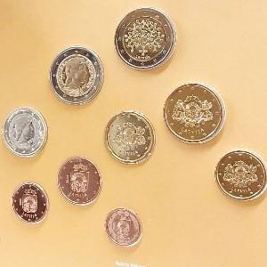 Eiro monētu komplekti