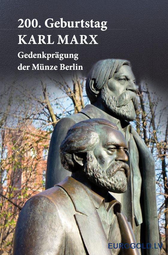 Germany Munze Berlin 1 Oz Silver Karl Marx 200 Anniversary 2018